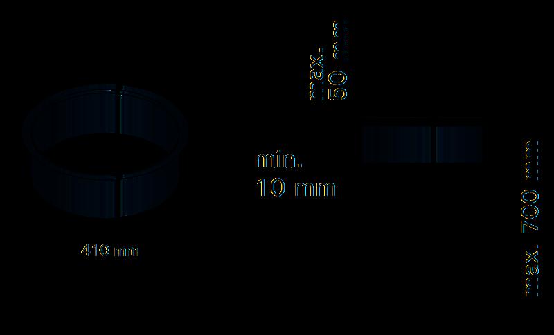 Монтажный фланец Harvia HPC2